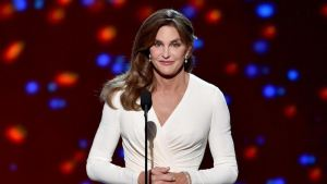 Caitlyn Jenner accepting Arthur Ashe Award. Source: ESPN